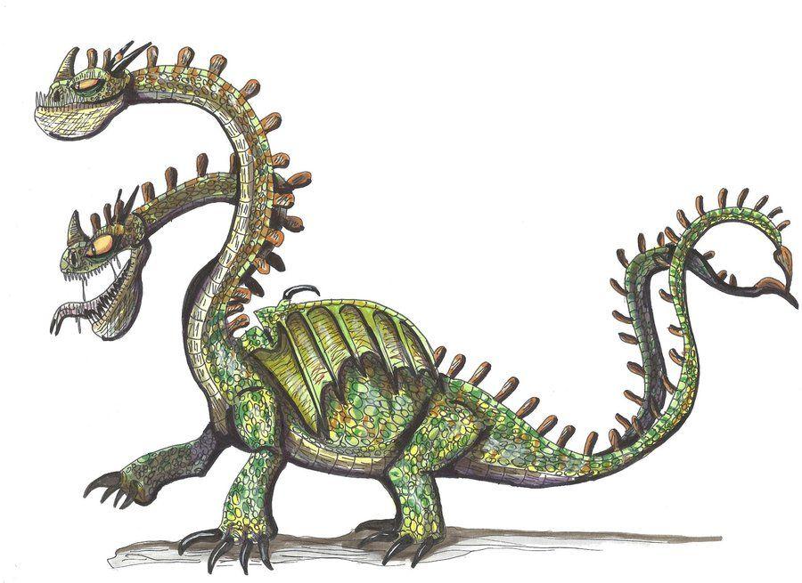 Hideous Zippleback by ~hellraptor on deviantART
