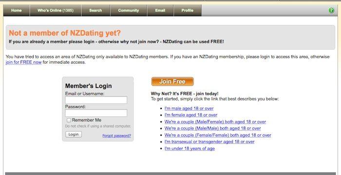 Nz dating