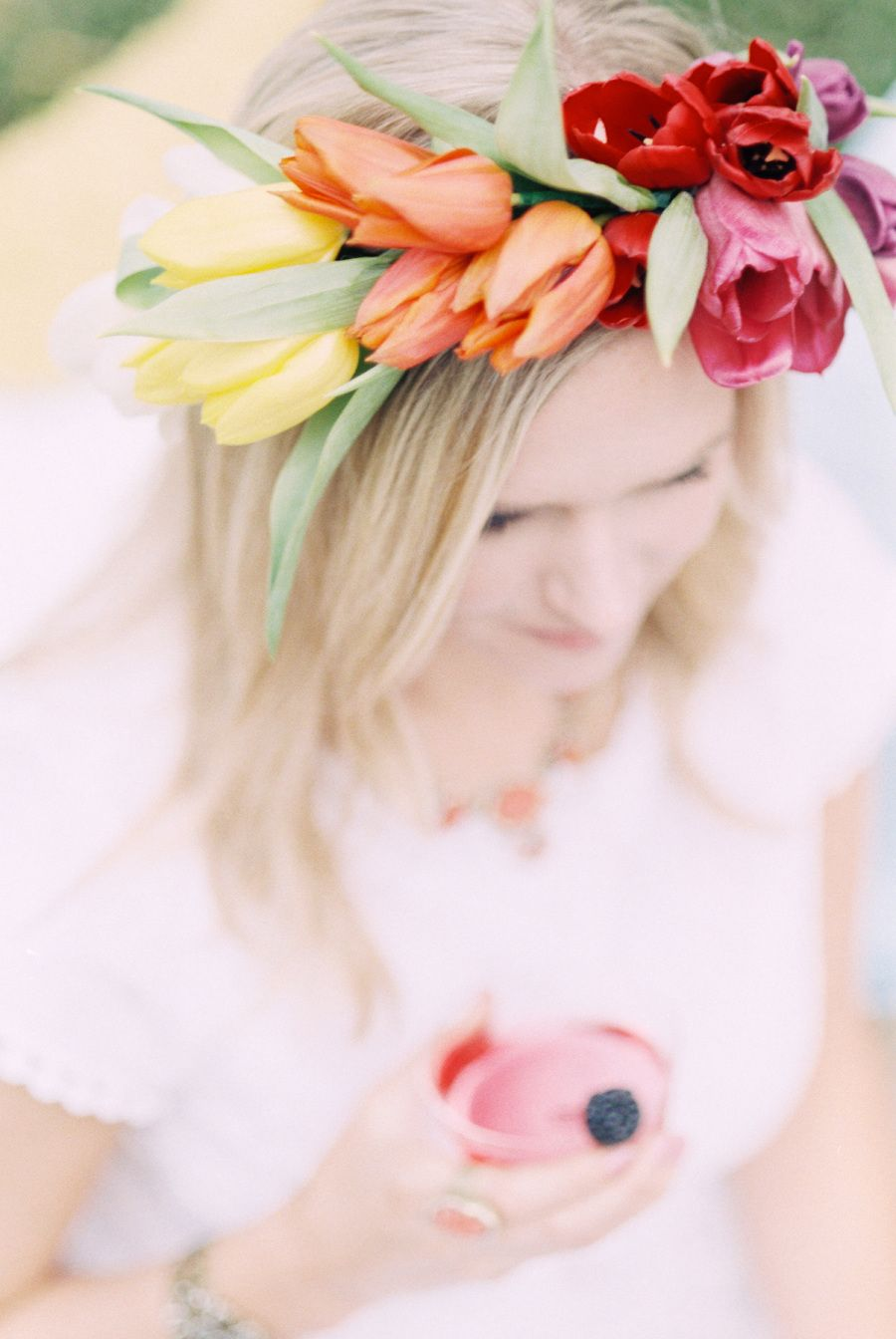 Photography: Lisa Dolan Photography - www.lisadolanphotography.com Read More on SMP: http://www.stylemepretty.com/living/2014/04/30/triple-berry-ombre-cocktail/