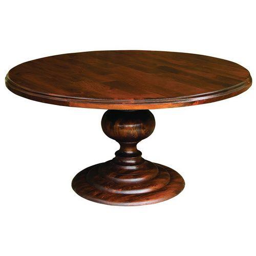 60 Inch Round Dining Table Wodden Round Pedestal Dining 60 Inch