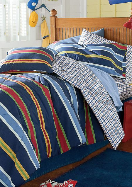 Duke Reversible Comforter | One Comforter Two Ways | Teen Boy Bedding