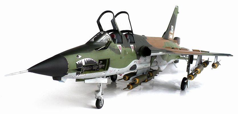 Here Are Some Images Of Trumpeter S 1 32 Scale Republic F 105g Thunderchief Wild Weasel From Wikipedia T Model Airplanes Aircraft Modeling Us Navy Aircraft