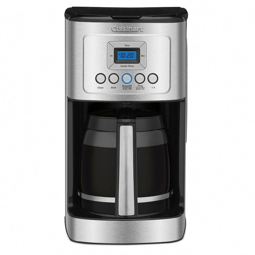 Cuisinart cup programmable coffee maker silver