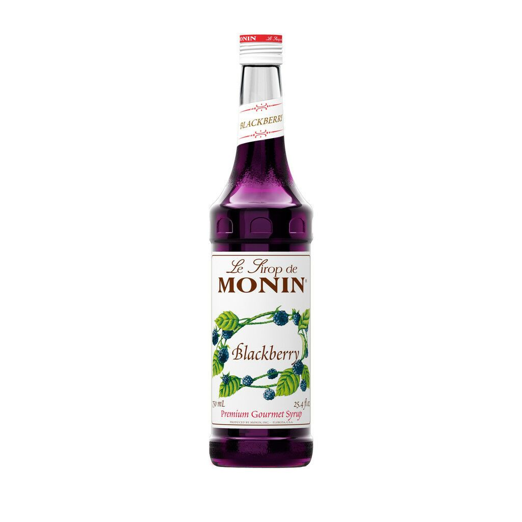 Coffee and soda syrups 79628 monin blackberry syrup 750ml