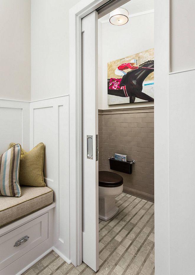 Small Bathroom Door Solution Pocket