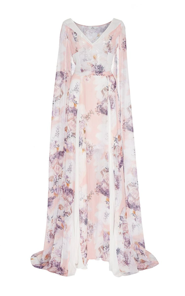 Viola cape maxi dress by we are kindred for preorder on moda