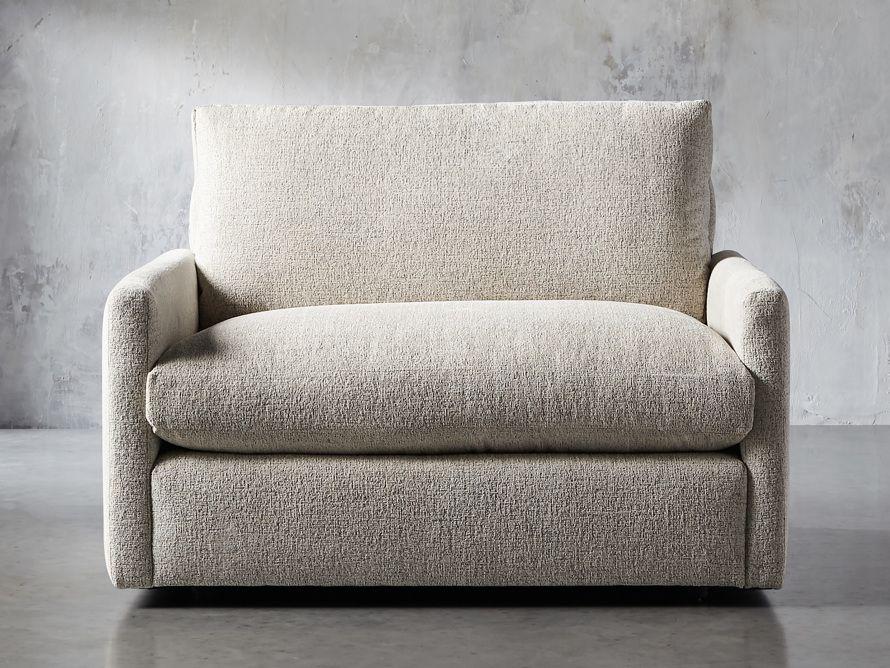 "Kipton Petite Upholstered 51"" chair"