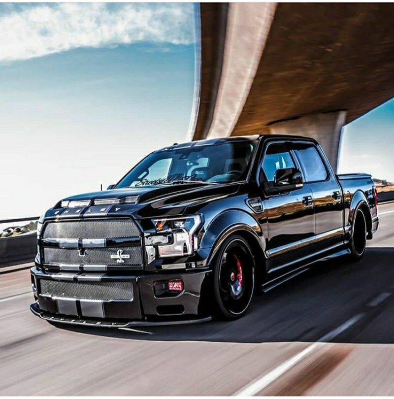 Slickfish 2017 Shelby F 150 Supersnake Shelby Truck Dropped