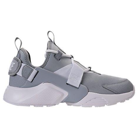 Chaussures Nike Air Huarache grises Casual garçon x1s9gvQf9