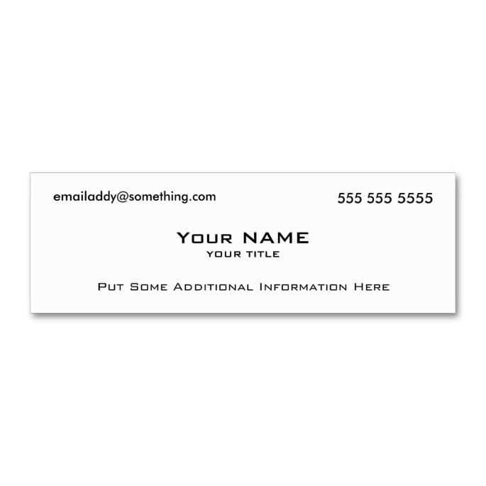 Modern white qr code mini business card qr codes business cards modern white qr code double sided mini business cards pack of 20 accmission Gallery