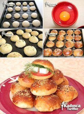 Kahvaltılık Pofuduk Poğaça Tarifi, Nasıl Yapılır #pizzateig