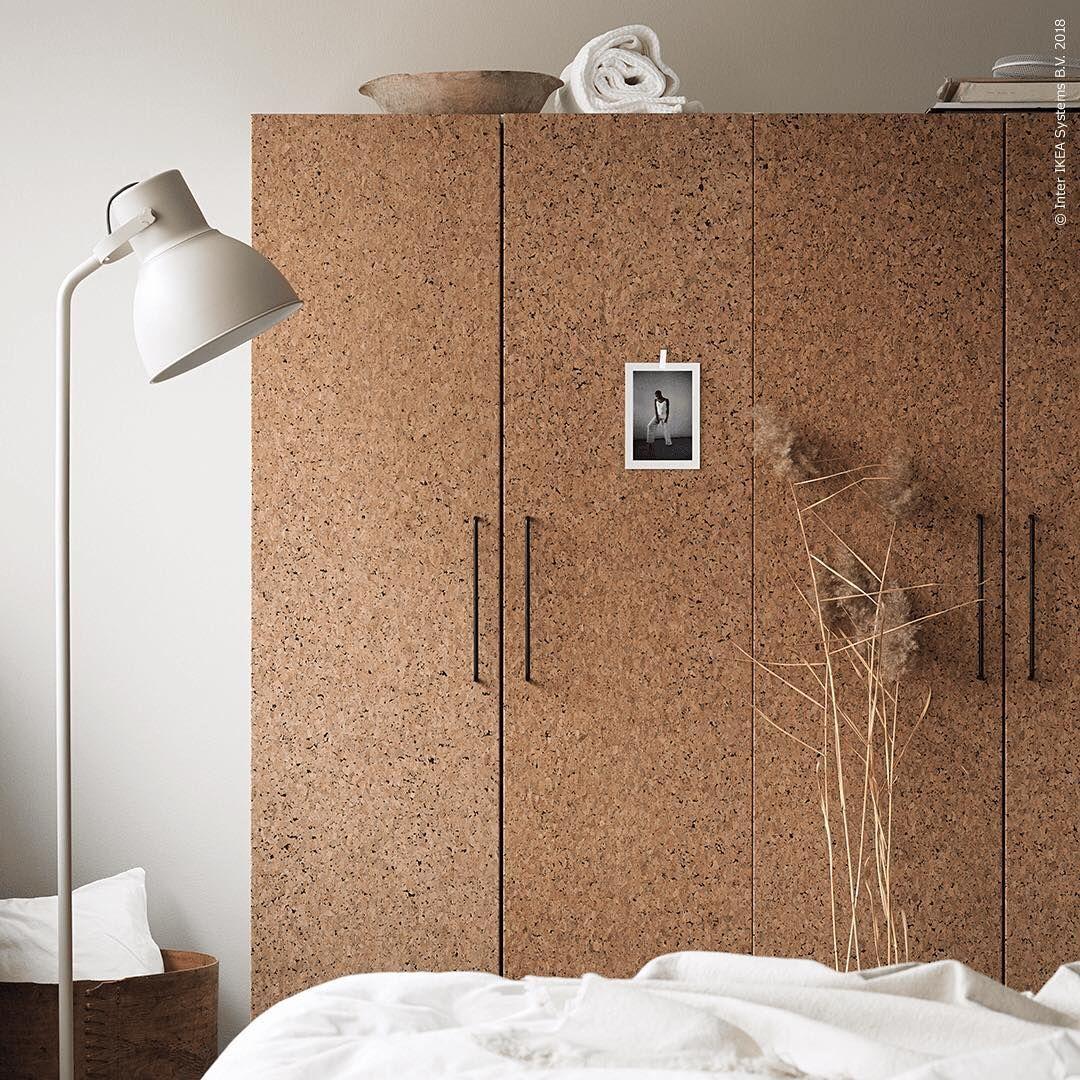 Ikea Sverige On Instagram Inred Sovrummet Med Vackra Naturmaterial Som De Nya Garderobsdorrarna Kirkenes Med Talig Ko Neue Wohnung Wohnen Innenarchitektur