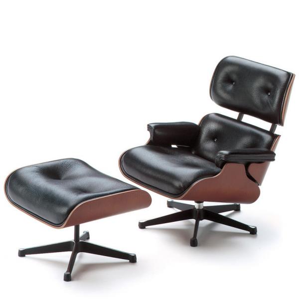 Bürosessel  Lounge Chair & Ottoman Vitra Bürostuhl Bürosessel | Das Büro lebt ...
