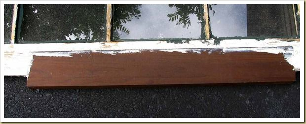 Wood window repair Dutchman using Thermally Modified Wood. Modern wood isn't as durable as old-growth lumber, so Old House Guy chose a specially treated wood to repair a badly rotted attic window sash.