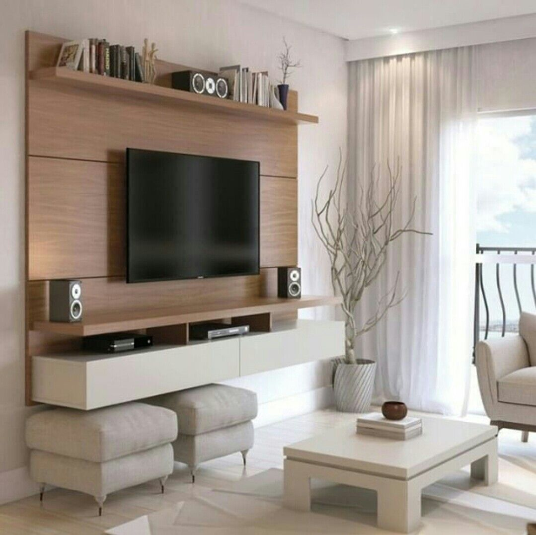 Pin By M Nica Mart Nez On Mueble Entretenimiento Pinterest  -> Acessorios Para Sala De Tv