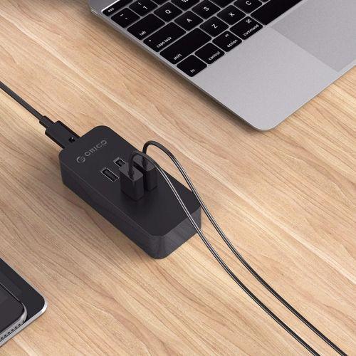 [$8.79] ORICO DCV-4U 4 Ports 5V / 2.4A Desktop USB Charger for Smartphones, Tablets, Power Banks  EU Plug(Black)
