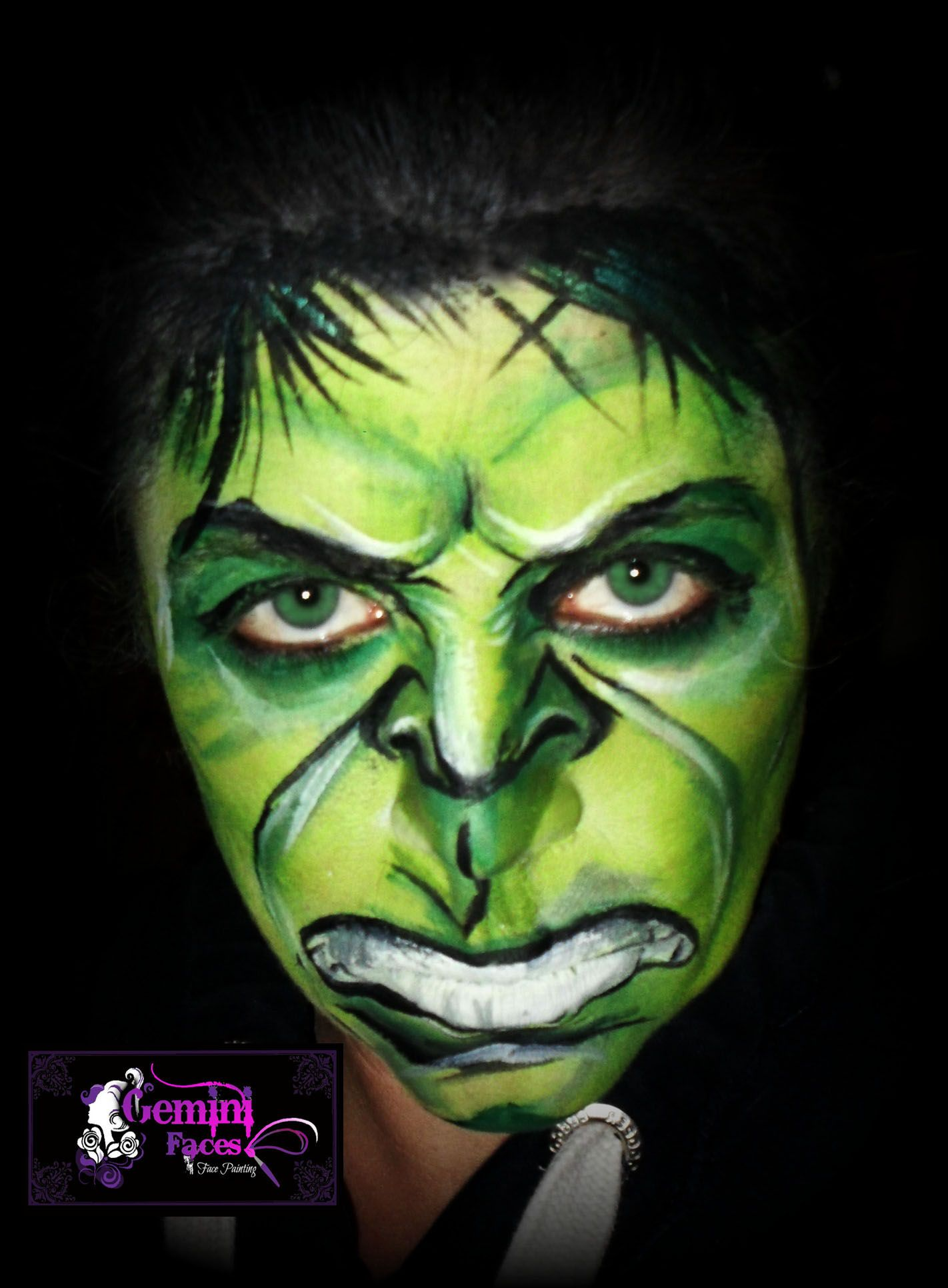 hulk smash face painting fx makeup and face paint. Black Bedroom Furniture Sets. Home Design Ideas
