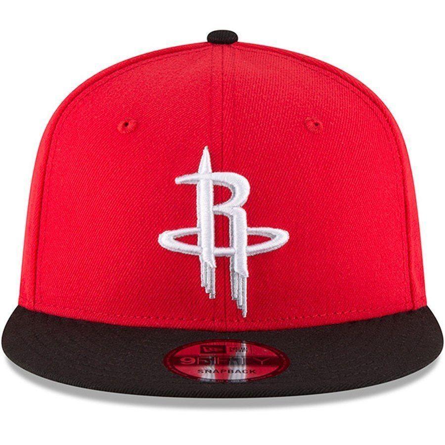separation shoes 58dc4 8dbb0 New Era Houston Rockets NBA 9Fifty Two Tone Snapback Adjustable Hat  Red Black  NewEra  HoustonRockets