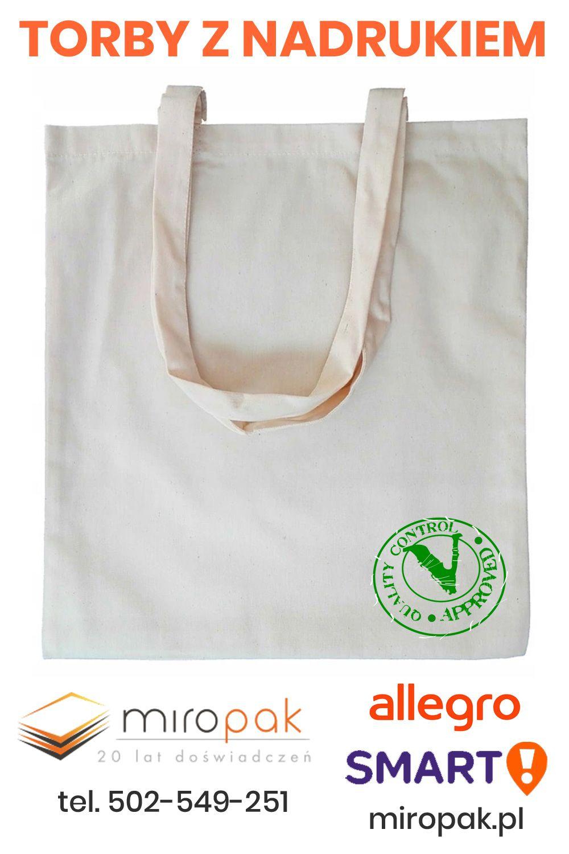 Torby Bawelniane Nadruk 1 Kolor 250 Szt 7634523554 Oficjalne Archiwum Allegro Bags Tote Bag Tote