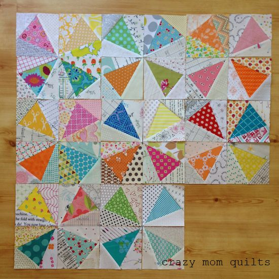 crazy mom quilts: kaleidoscope quilt in progress   quilt ... : crazy mom quilts - Adamdwight.com