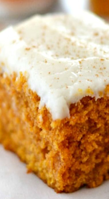 Grandma's Pumpkin Snack Cake -   24 sweet pumpkin recipes ideas