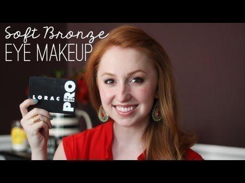 Photo of Tutorial: Soft Bronze Eye Makeup (featuring LORAC Pro To Go Eye/Cheek Palette),  #Bronze #Eye…