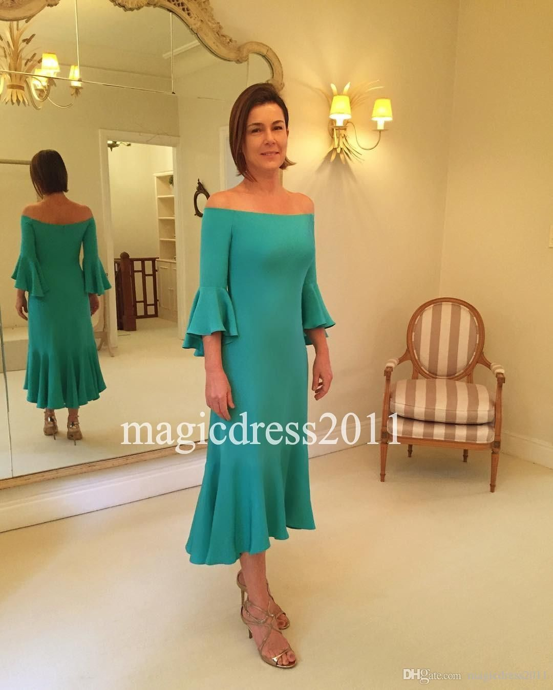 Mother dresses for a beach wedding  Romantic  Mother Of The Bride Dress Green Beach Wedding Motherus