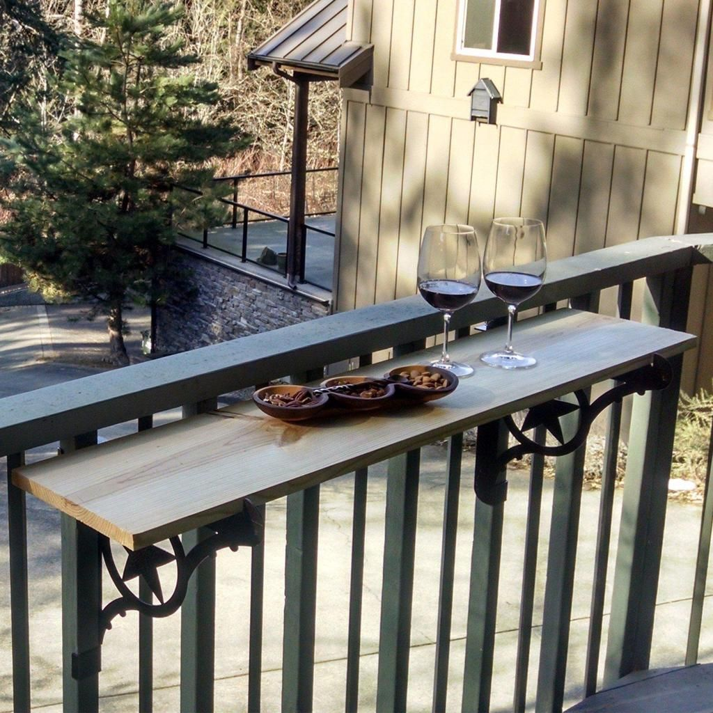 Kulshan Balcony Railing Table Brackets