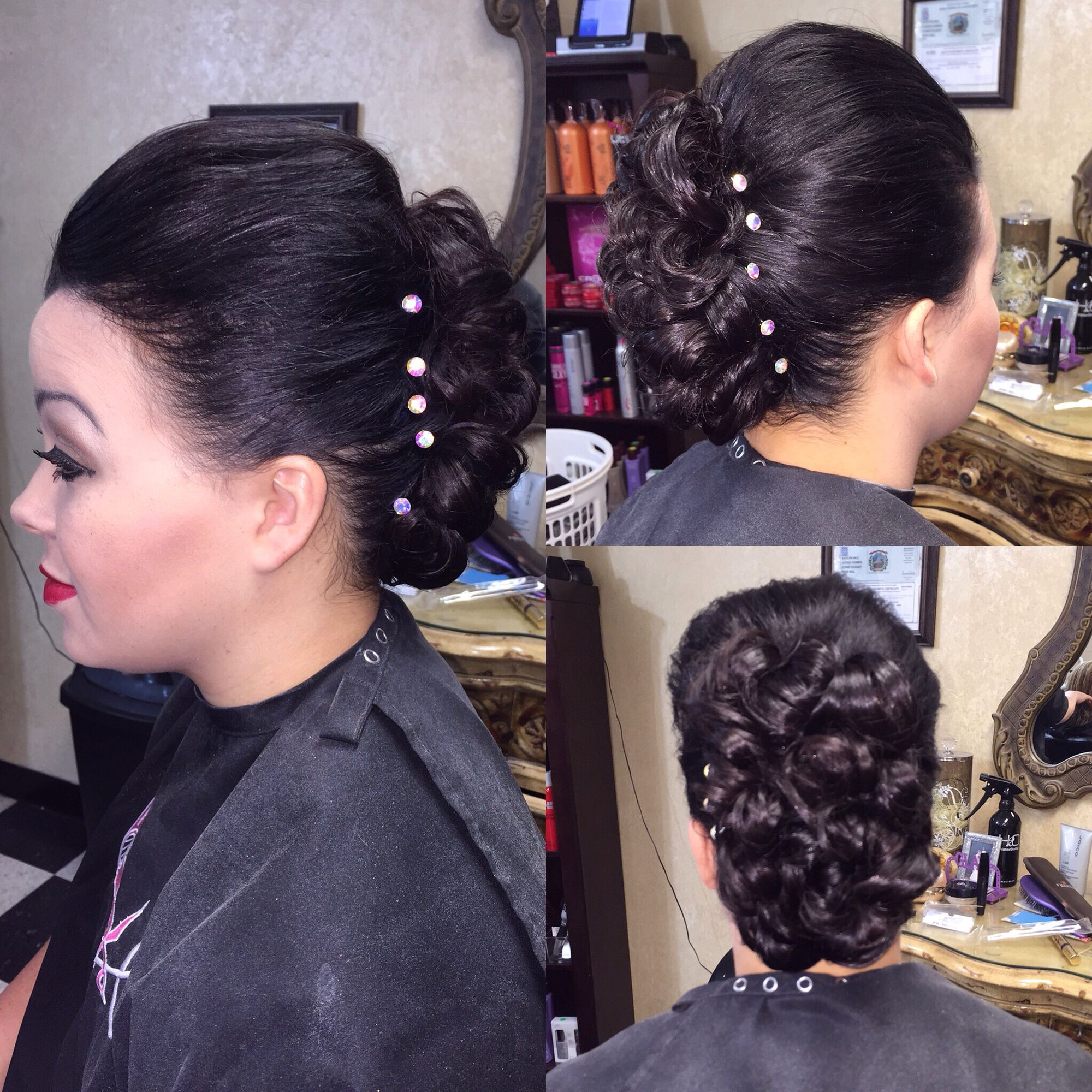 Hair by me mohawk style updo hair beautywithin formal