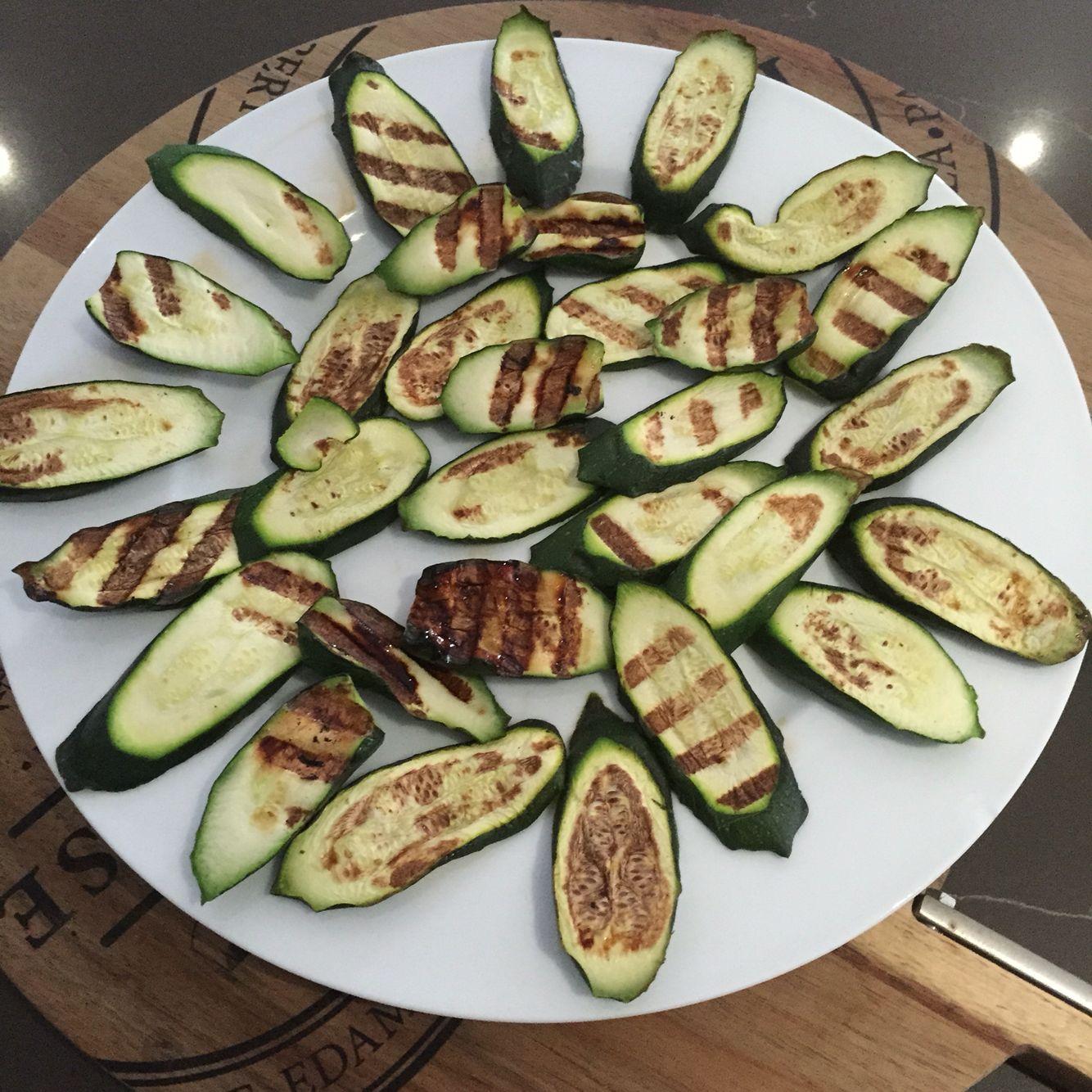 organic grilled zucchini grilled zucchini food finger