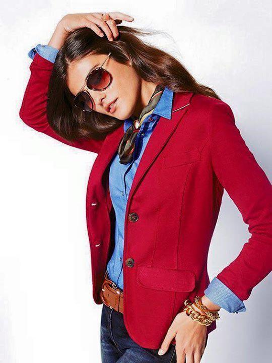 Saco Rojo | Sacos Rojos De Moda | Pinterest | Saco Rojo Sacos Y Rojo