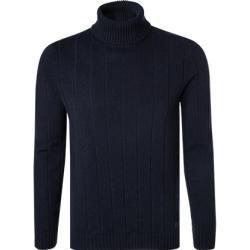 Photo of Maerz Rollkragen-Pullover Herren, Schurwolle, blau Maerz München