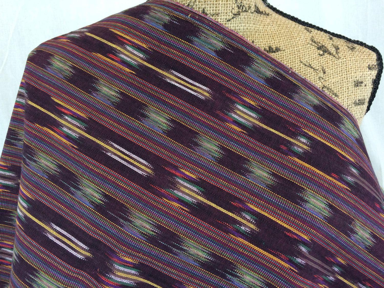 Guatemalan Fabric in Desert Brown