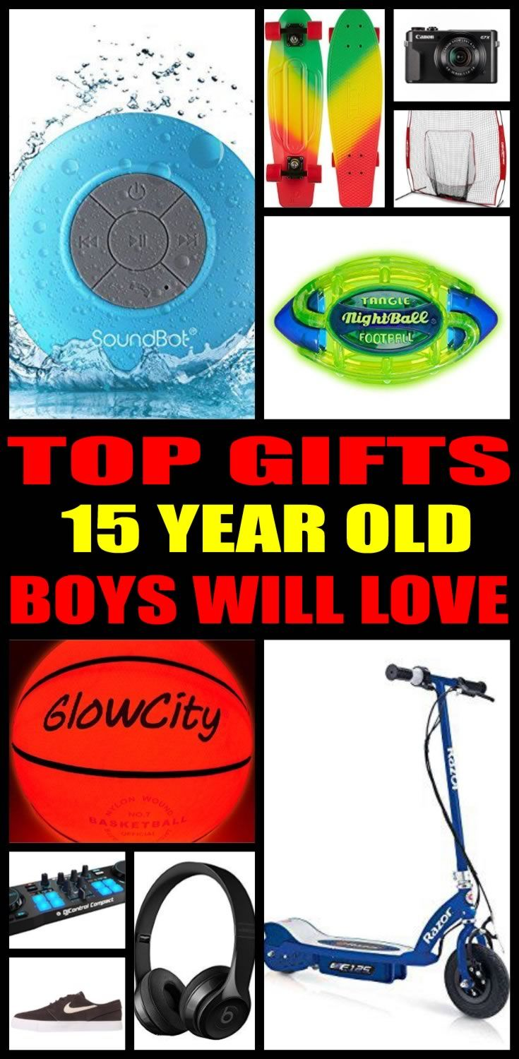 Best gifts 15 year old boys actually want birthday gifts