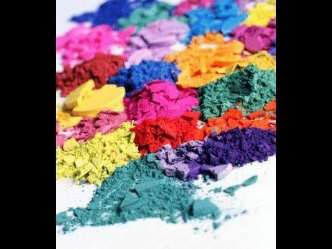 Acrilicos con pigmentos (Baratos!!) Polvos acrílicos de color :) Low cost!