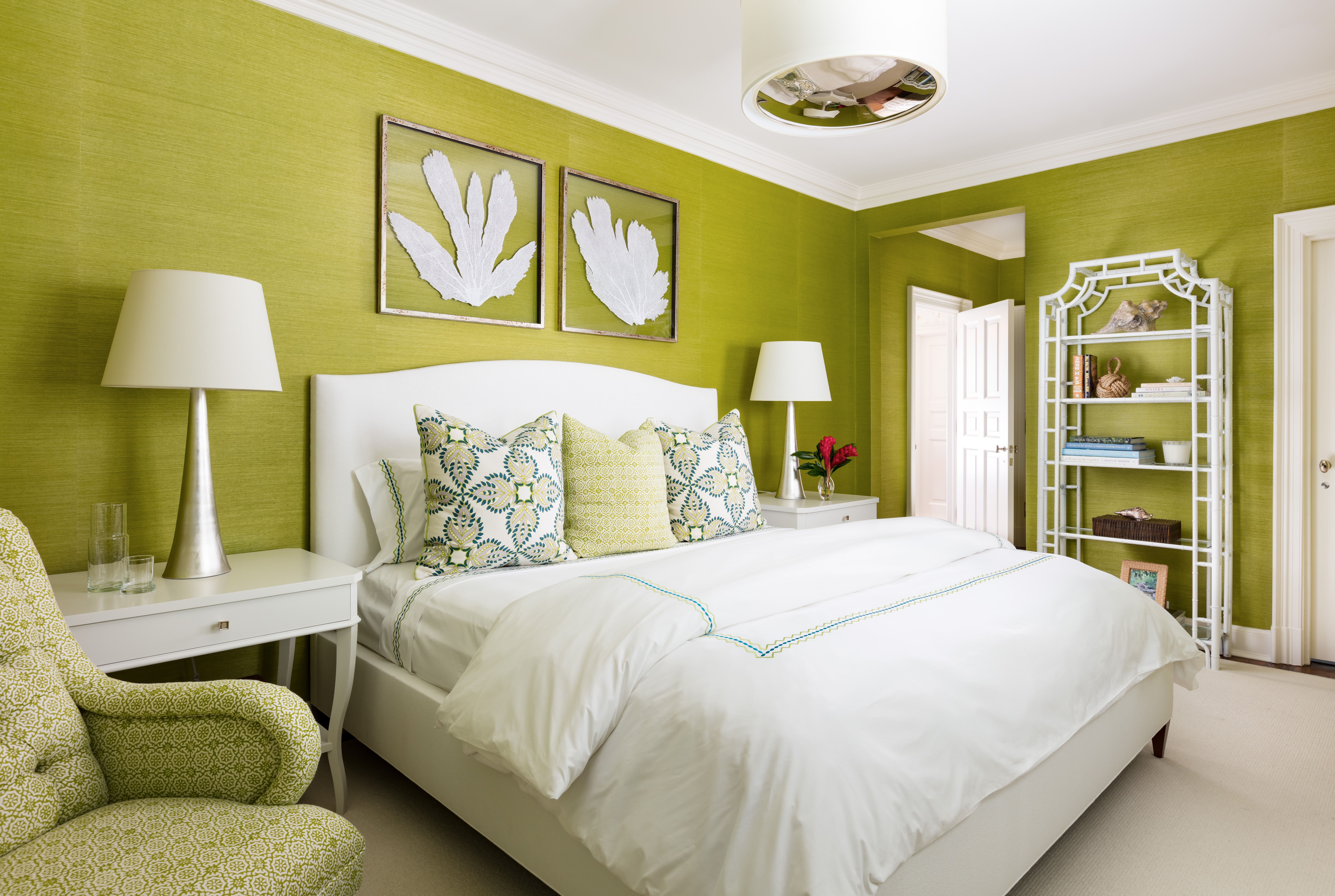 Pin by HIVE Collective on BEDROOMS | Lime green bedrooms ...