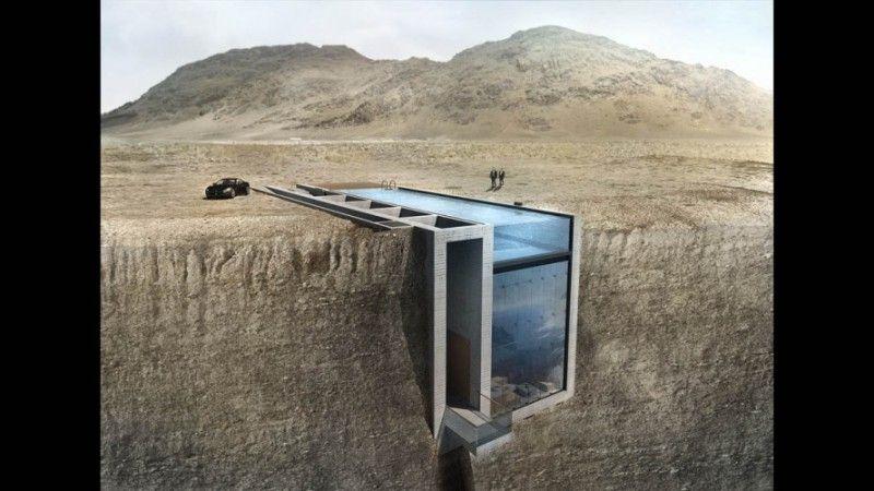 """Arquitetura - """"Casa Brutale"""", o luxo à beira do precipício"""