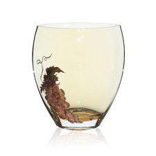 Gold Grapes Vase