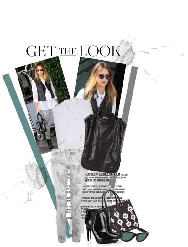 """""""Get the Look: Jessica Alba"""" by leigharev ❤ liked on Polyvore"""