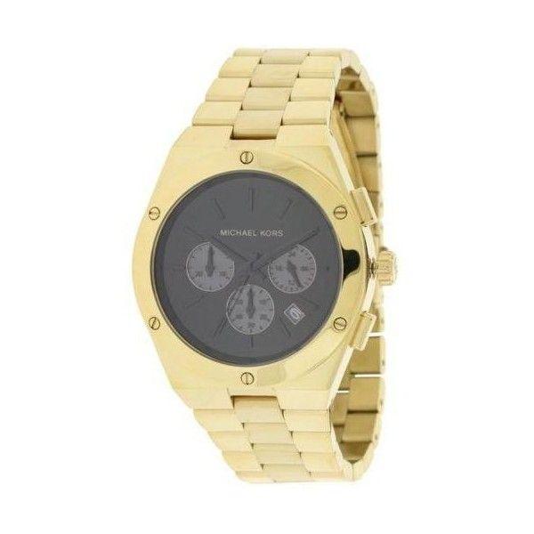 39a7aa2e095a Michael Kors Reagan Gold-Tone Chronograph Ladies Watch MK6078  203  Chronograph