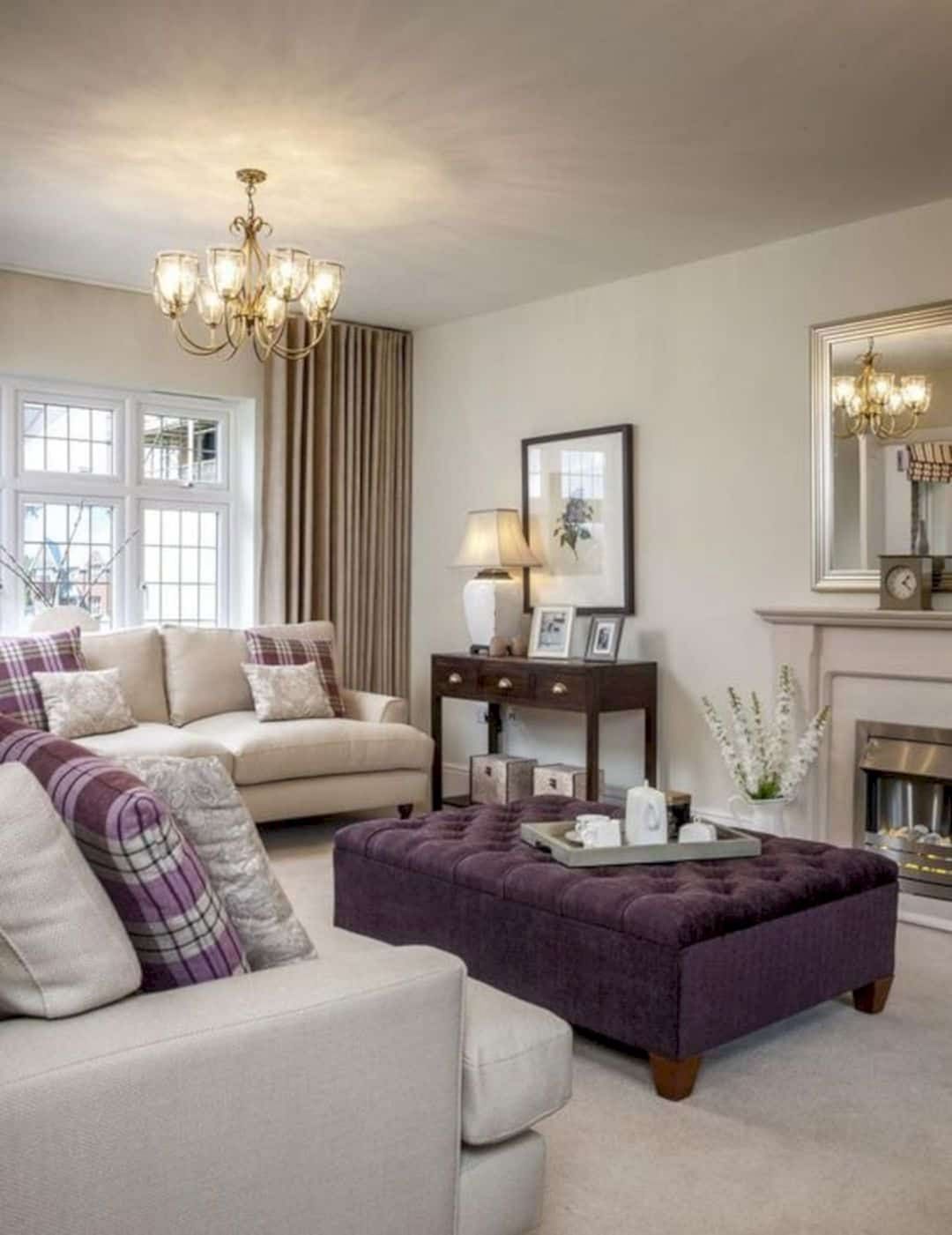 15 Awesome Living Room Green And Purple Interior Color Ideas Silver Living Room Purple Living Room Living Room Color Schemes