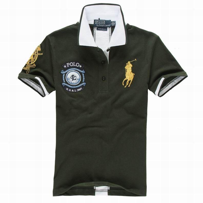 outlet ralph lauren Ralph Lauren Men\u0026#39;s US 1967 Short Sleeve Polo Shirt Palm http:/
