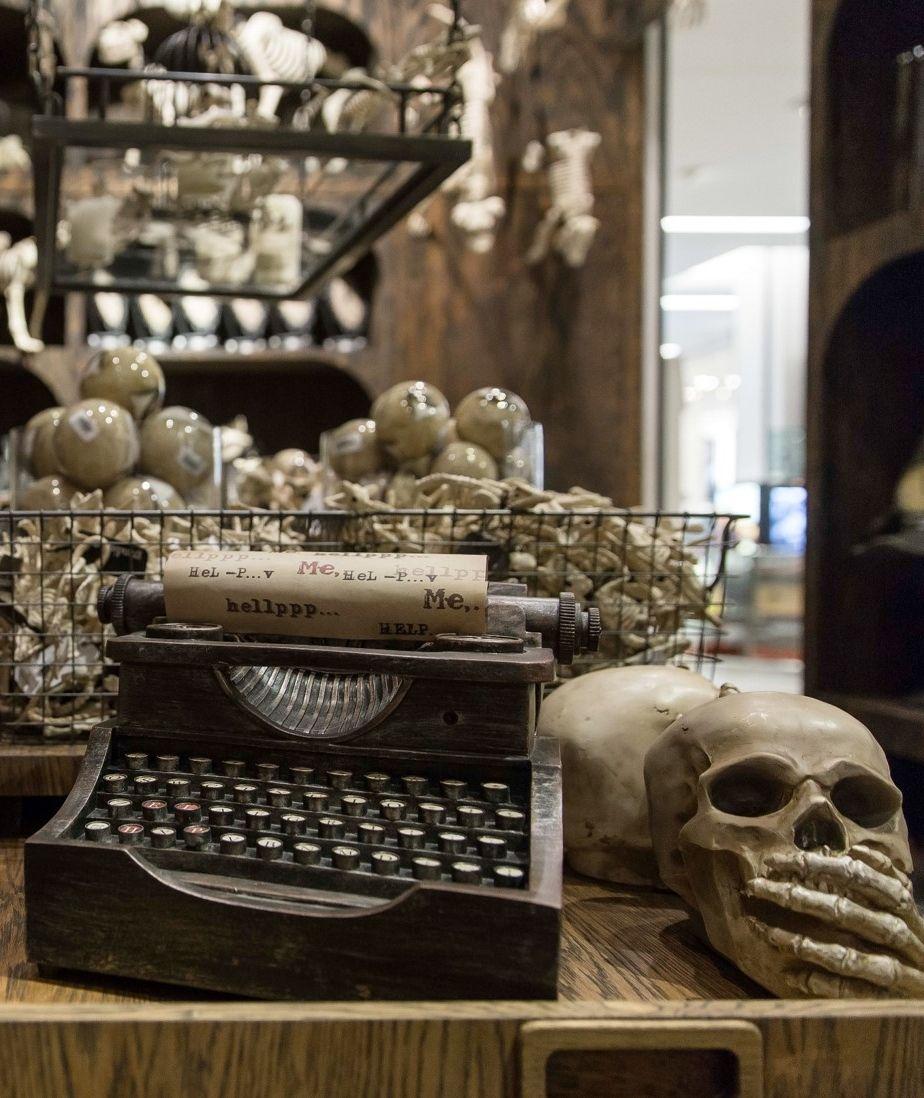 The Scare at Herald Square Grandin Road Halloween Shop