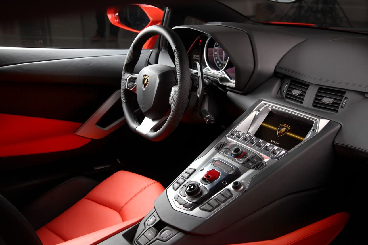 Lp 700 4 Lamborghini Aventador Lamborghini Aventador Interior