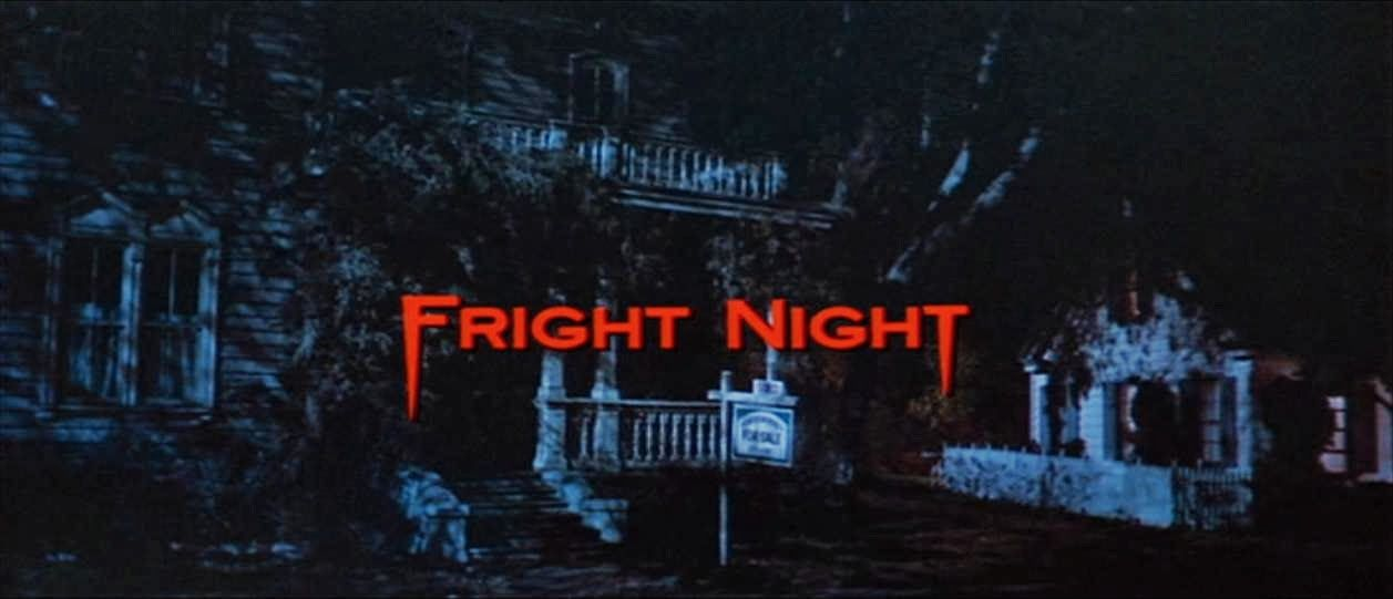 FRIGHT NIGHT /// 1985 | 80s MOVIE TITLE SCREENS in 2019