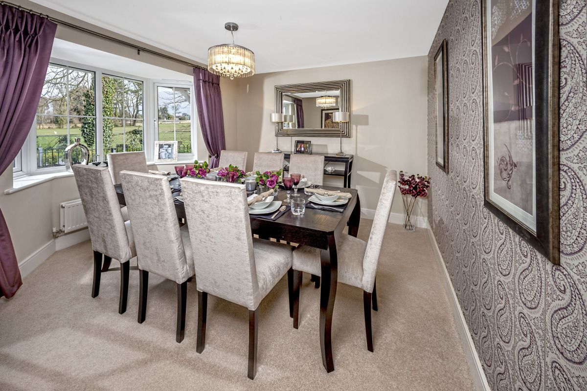 Dining room at Worthing 5 bed show