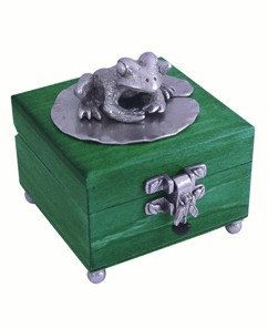 Wooden Frog Box by jimclift on Etsy, $57.95