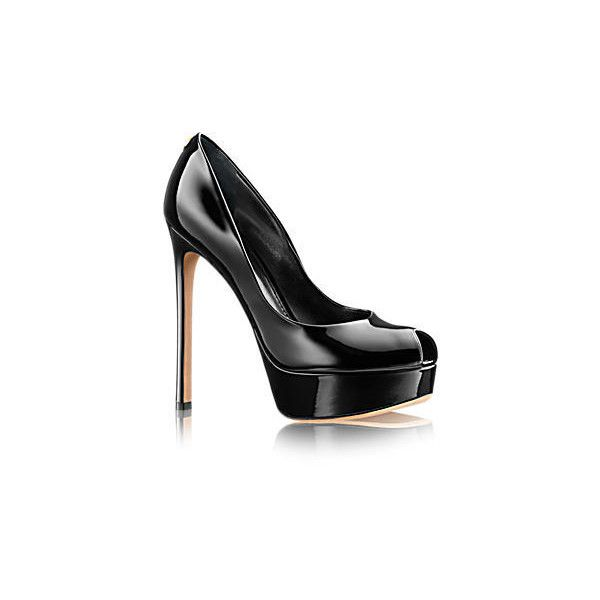 6454ea2834 Rendez Vous Open Toe Pump (3,050 SAR) ❤ liked on Polyvore featuring ...