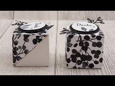 "Black&White Box ""Blütentraum"" mit Stampin'Up!® - YouTube"