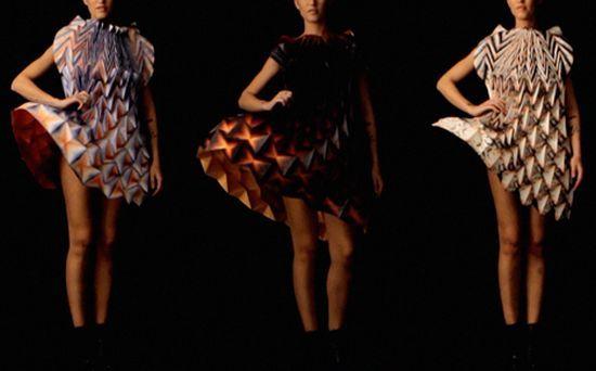 Wonderful Origami Dresses by Jule Waibel (5 Photos)   Art ...